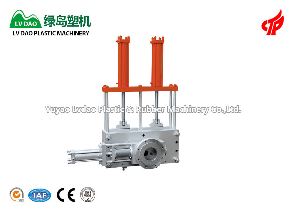 Automatic Plastic Screen Changer Plastic Vertical Making Machine Easy Operation
