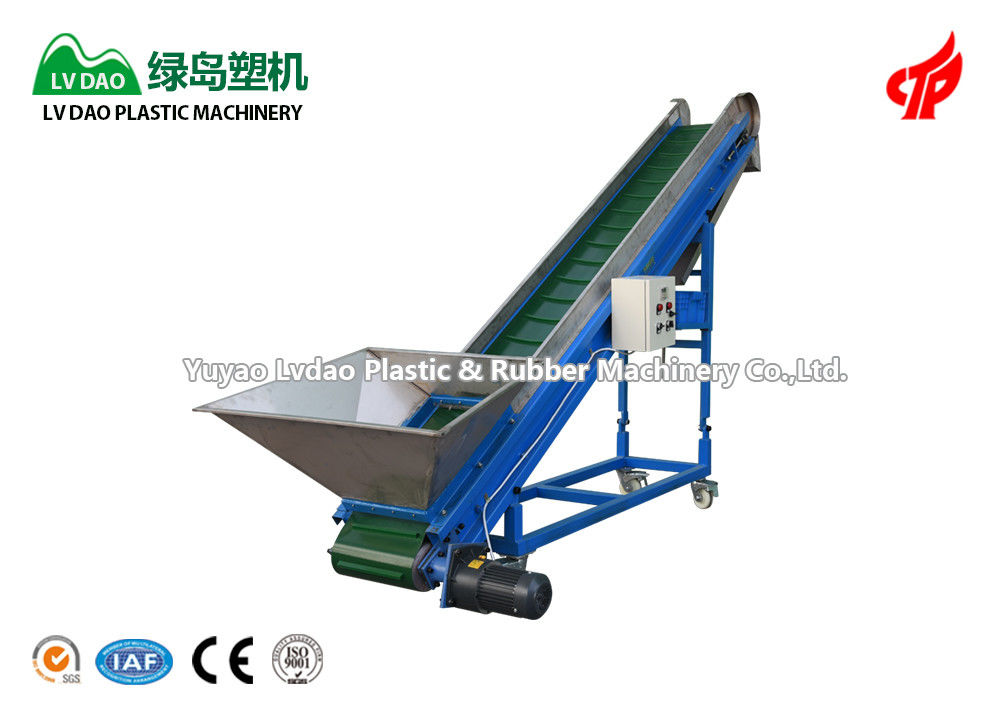 Blue color Suitable for small-scale production cheap price magnetic conveyor system