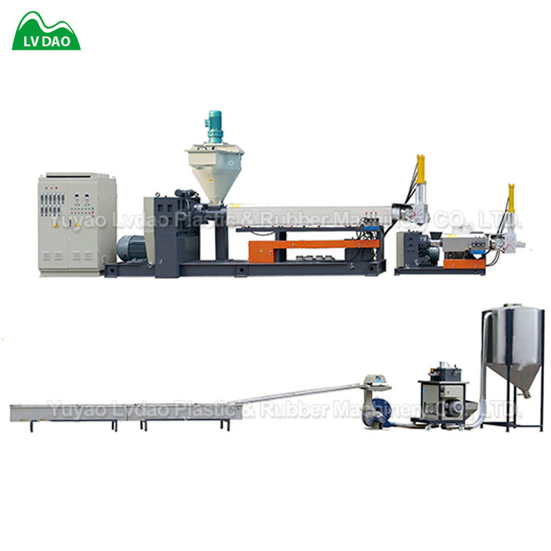 High Productivity PP Waste Plastic Scrap  plastic granules making machine
