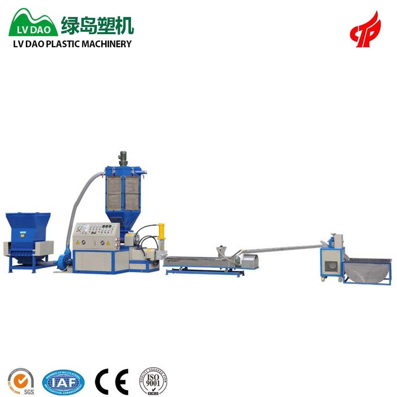 High Output Waste EPS Board Plastic Recycling Plant Machinery 60 - 90kg/H Capacity